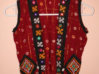 1 Red Traditional Koti
