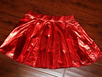5 Red Skirts (Size: Kids)